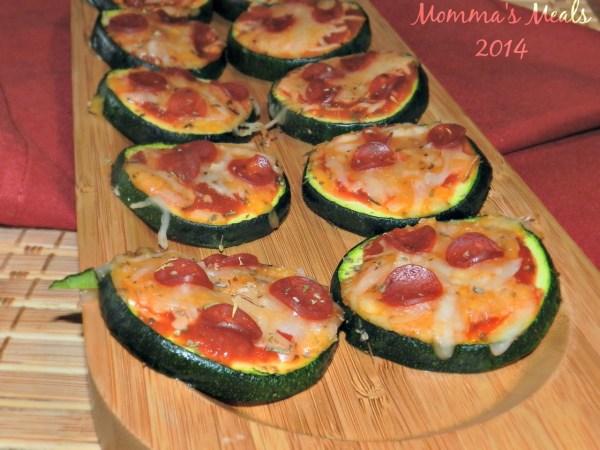 Zucchini Pizza Bites2
