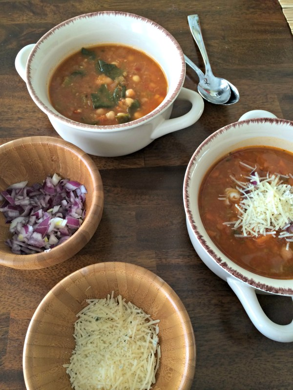 Chickpea and Bean Soup 7
