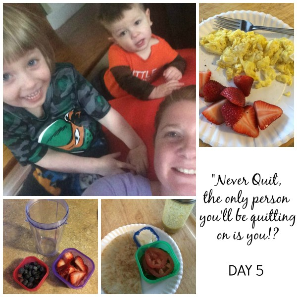 21 Day Fix Day 5