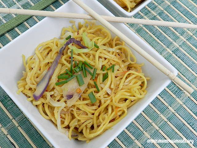 Easy Chow Mein F