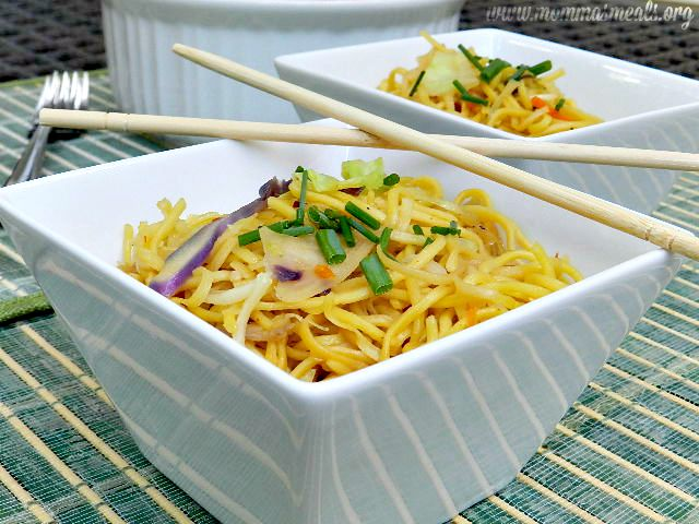 Easy Chow Mein SS
