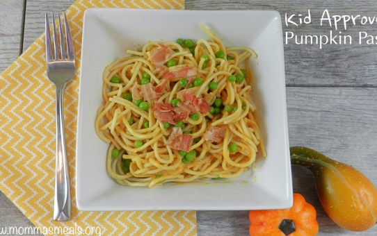 Kid Approved Pumpkin Pasta