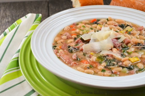 Tuscan Ham and Bean Soup