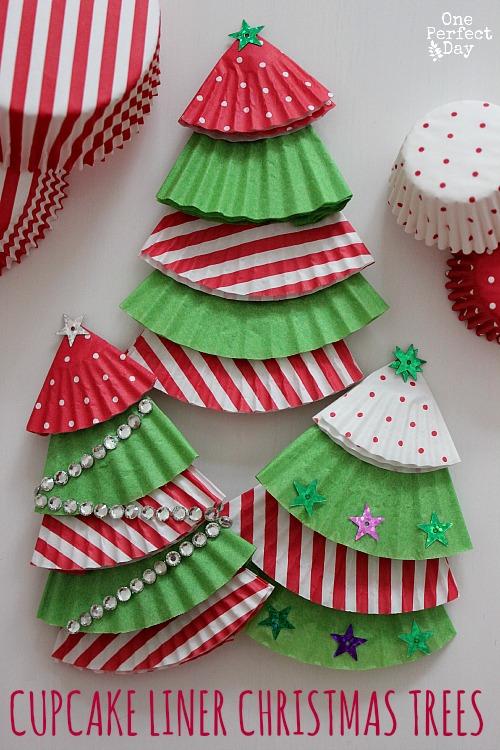 Cupcake Christmas Tree