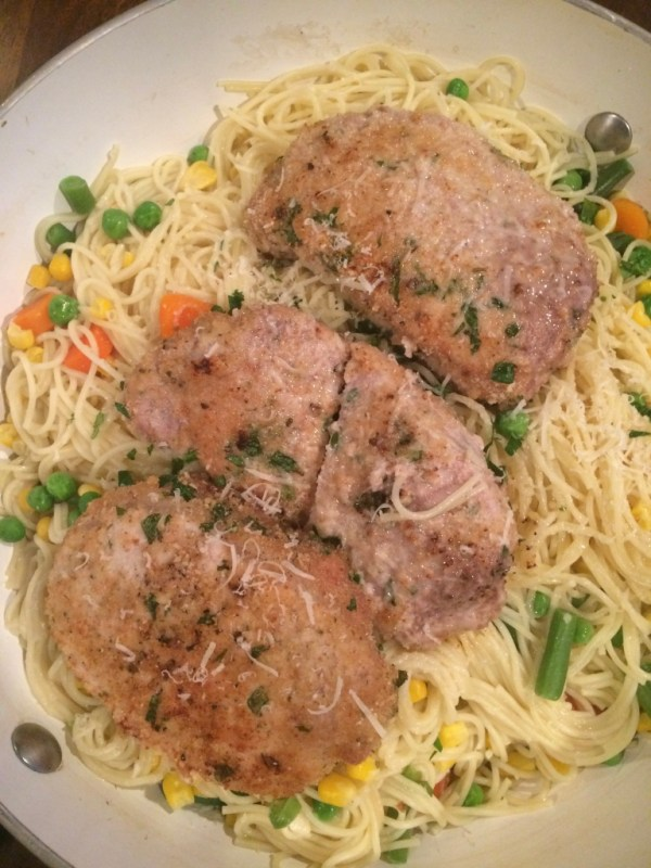 Easy Baked Pork and Pasta