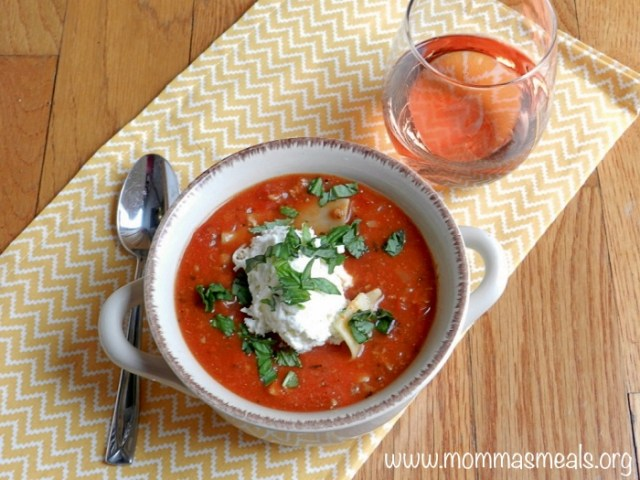 Lighted Lasagna Soup FB