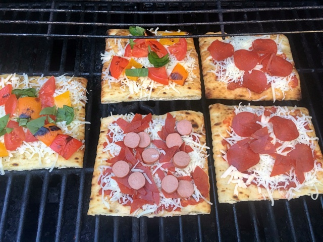 Grilled Pizza Flatbread Bar