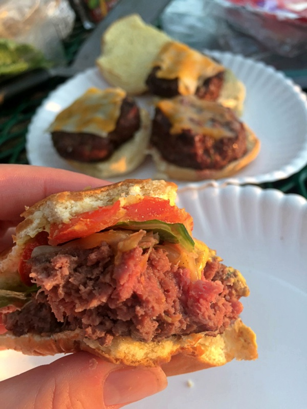 Healthy BBQ Sliders