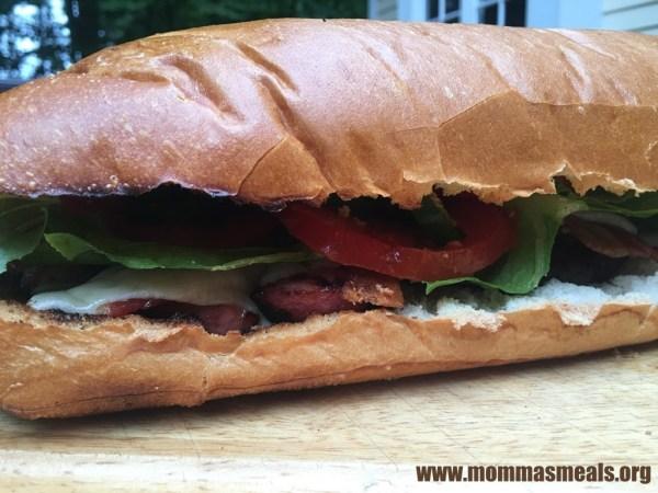 Grilled Manwich Club