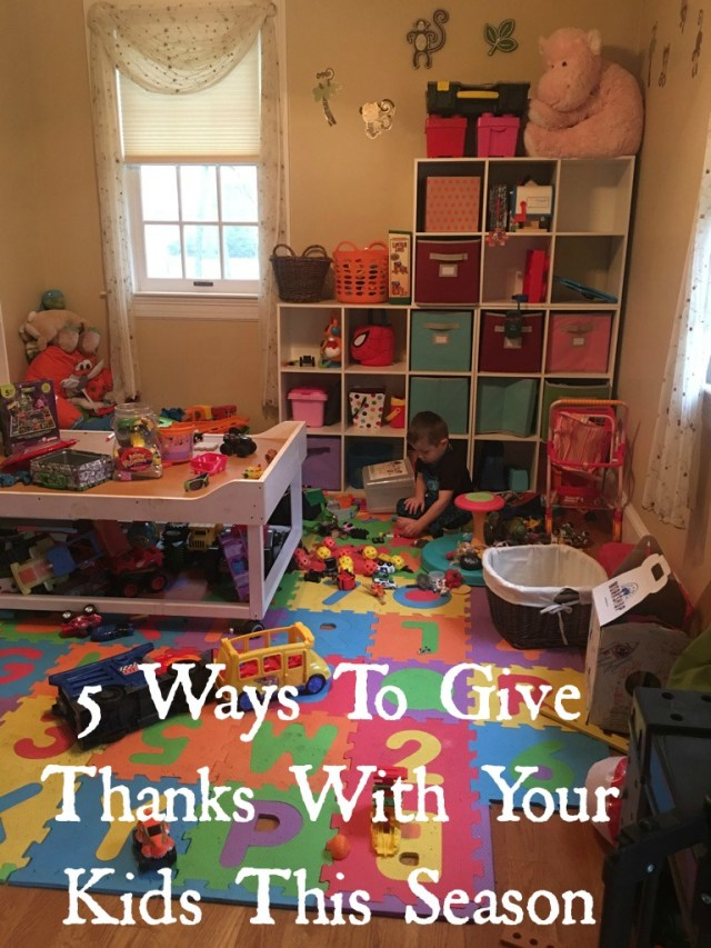 5 Ways To Give Thanks With Your Kids This Season