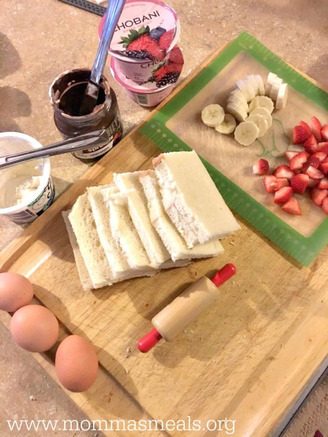 French Toast Crepes for Kiddos