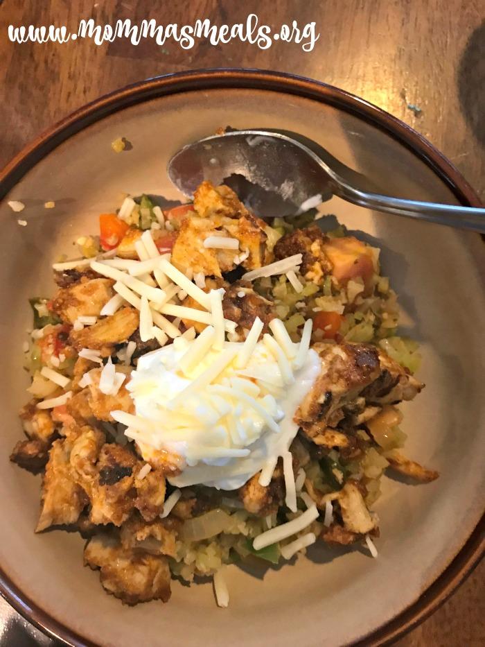 Mexican Cauliflower Rice Bowls
