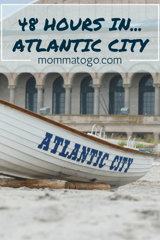 48 Hours In... Atlantic City. A winter family getaway to Atlantic City, New Jersey. Where to stay (Tropicana), eat (Cuba Libre, Rainforest Cafe, Angelo's and Country Kitchen) and what to do (mini golf, board walk, aquarium, swim and more!) mommatogo.com