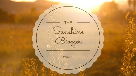 sunshine blogger award mommatogo.com