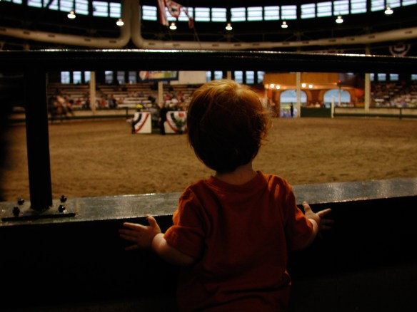 The horse shows became part of the tradition.
