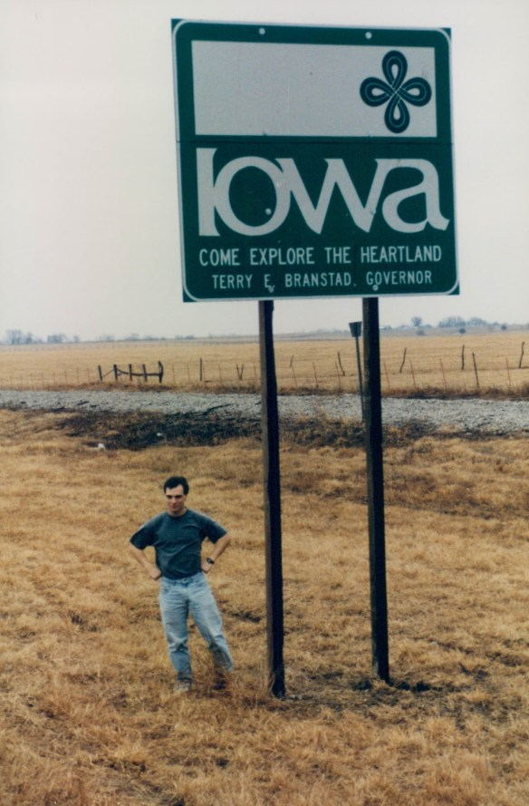 Entering Iowa for the first time ever.