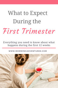 First trimester what to expect