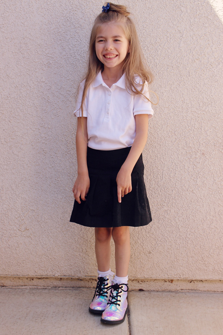 School Uniform Day 5- http://www.mommininapinch.com/kids-school-uniforms/