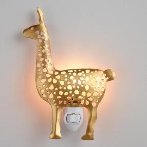 gold llama nightlight- www.mommininapinch.com