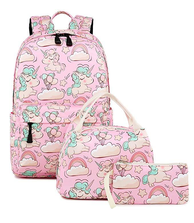 Unicorn School backpack - www.mommininapinch.com
