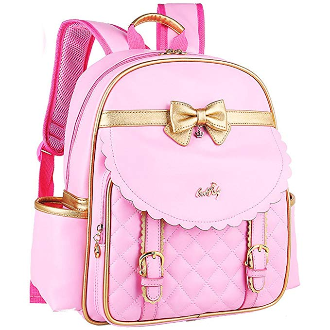 Gold Bow School backpack - www.momminapinch.com