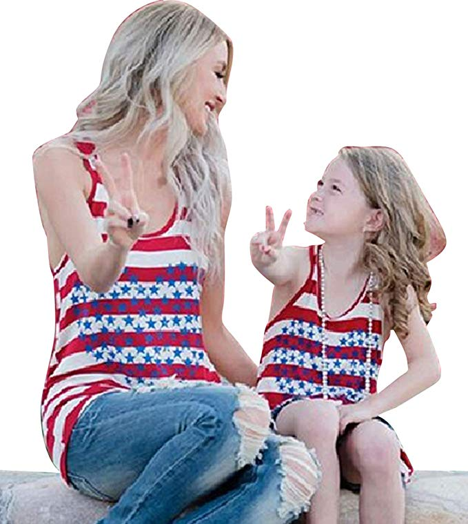 Heart of Stars Mommy and me Tanks - www.mommininapinch.com