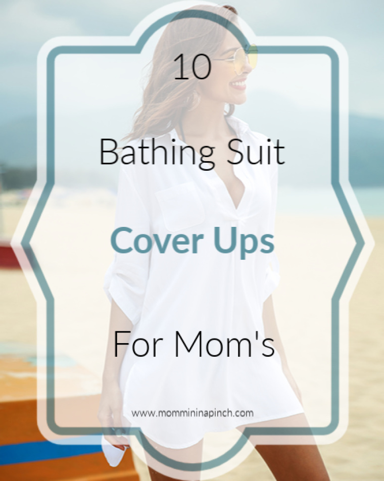 10 Bathing suit Cover ups for Mom's - www.mommininapinch.com #beachattire #bathingsuitcoverup #coverup #summeroutfits #summerattire