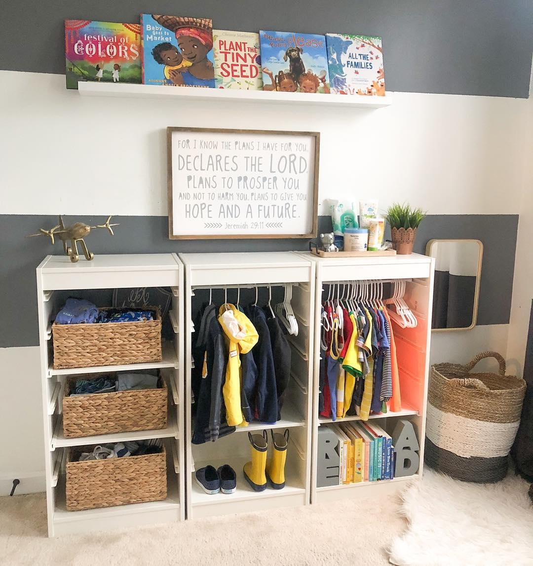 Montessori Diy Wardrobes Mommo Design