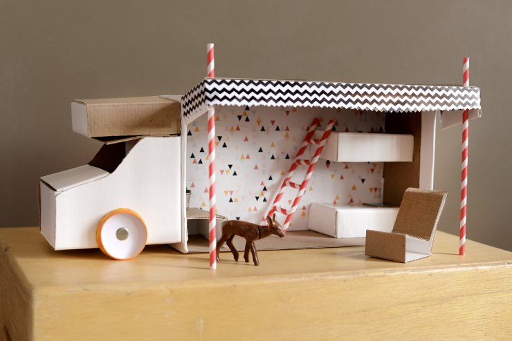 Cardboard Toys Mommo Design