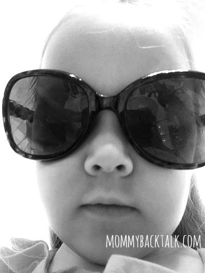 Margaret in shades