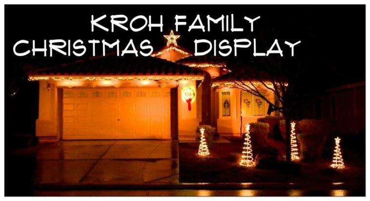 Kroh Family Christmas Display