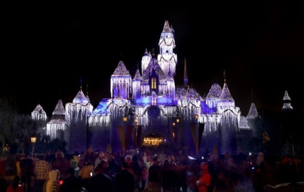 Disneyland Holidays Sleeping Beauty Castle