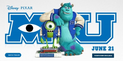 Disney Pixar Monsters University Movie