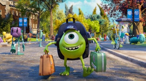 Mike Wazowski, Freshman, Monsters University