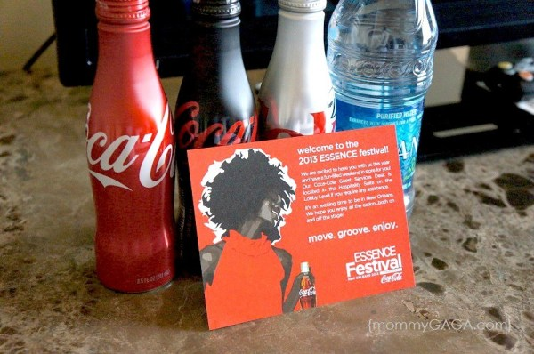 Coca Cola Products, Essence Festival, New Orleans