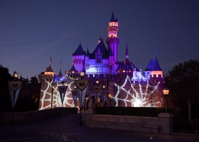Disneyland Castle, Halloween Time