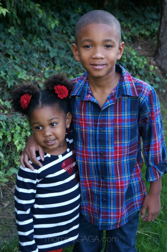 Kids wearing OshKosh BGosh holiday styles