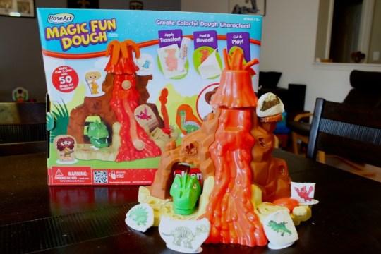 Magic Fun Dough Volcano Set, RoseArt