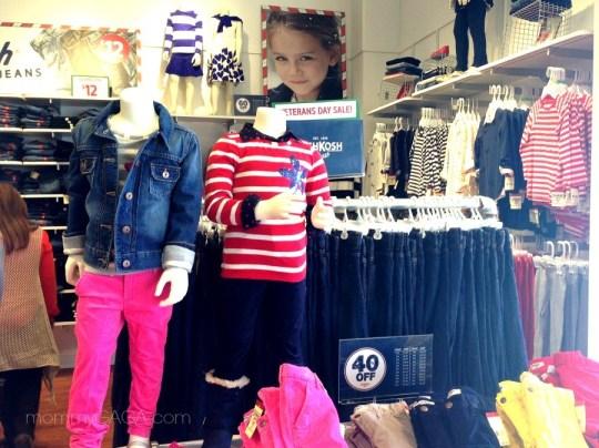 OskKosh BGosh Store, Carlsbad, CA