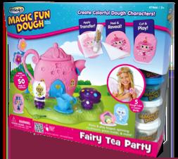 RoseArt Magic Fun Dough Fairy Tea Party Kit