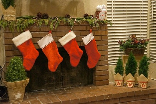Deck the Halls Holiday Christmas Fireplace Mantle decor