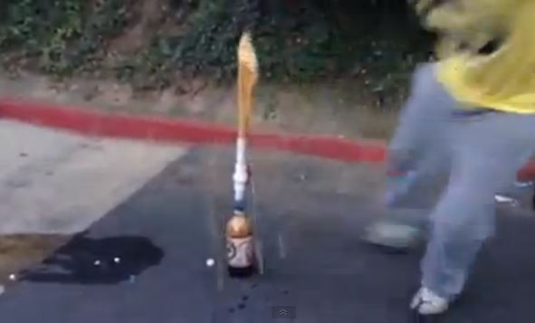 soda and mentos geyser