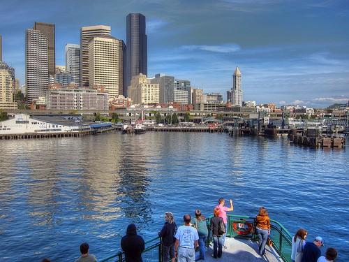 Seattle Bainbridge Island Ferry, Flickr, joevare