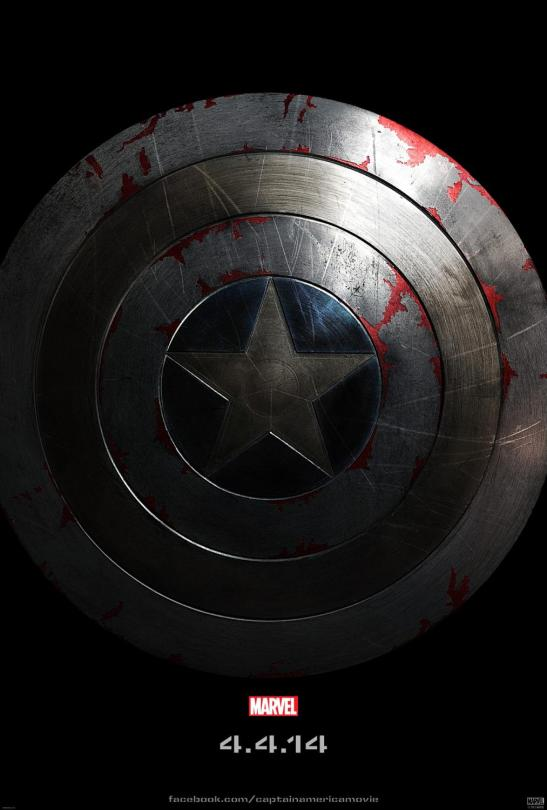 Captain America, The Winter Soldier Shield Movie Poster