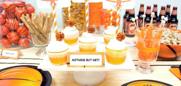 March Madness Basketball Birthday Party Ideas