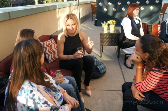 Bloggers chatting with Malin Akerman, ABC's Trophy Wife, March 2014