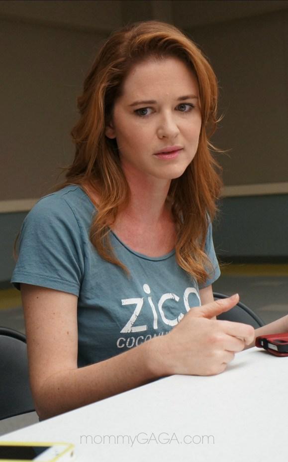 Grey's Anatomy set visit, Interview with Sarah Drew