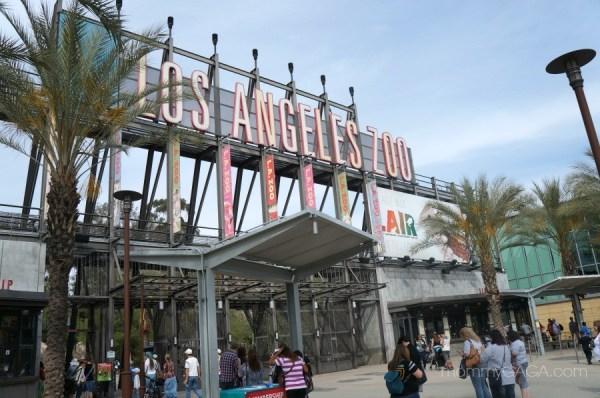Los Angeles Zoo Entrance, LA, California