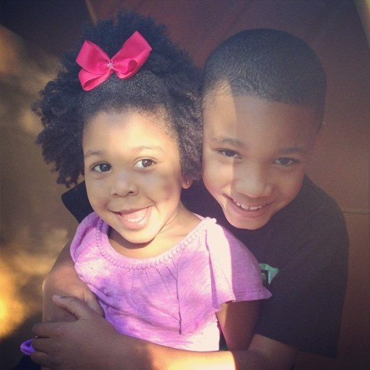 african american mixed cute kids