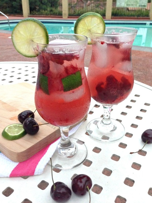 Cherry-Lime-Spritzer-Mocktail-Non-Alcoholic-Drink-Recipe